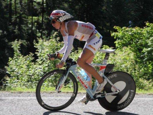 dibens 520x390 Craig Alexander e Julie Dibens vencem em dia de quebra de recordes no Ironman Coeur DAlene