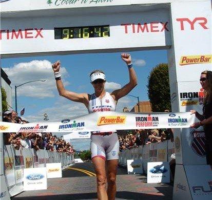 dibens2 413x390 Craig Alexander e Julie Dibens vencem em dia de quebra de recordes no Ironman Coeur DAlene